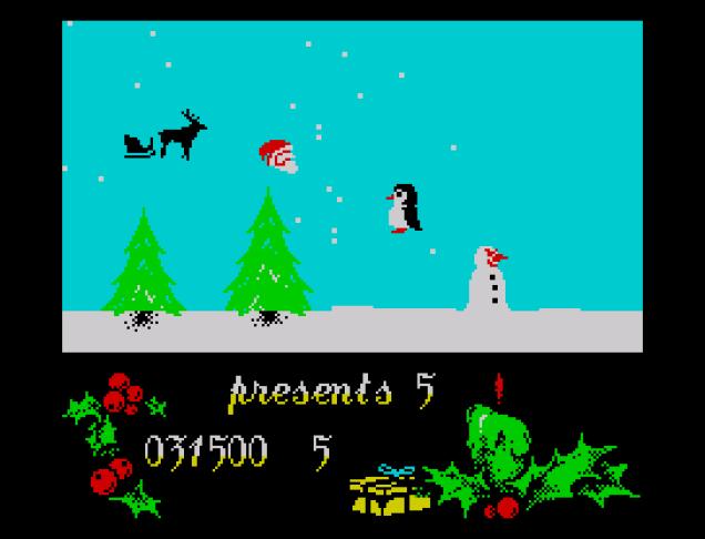 Santa's Christmas Capers ZX Spectrum 34