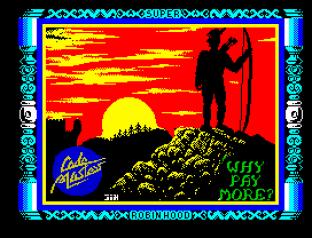 Super Robin Hood ZX Spectrum 01