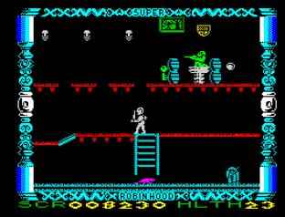 Super Robin Hood ZX Spectrum 12