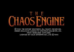 The Chaos Engine Megadrive 001