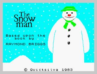 The Snowman ZX Spectrum 01