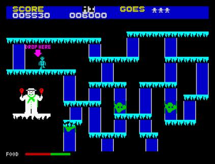 The Snowman ZX Spectrum 09
