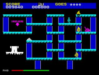 The Snowman ZX Spectrum 10