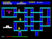 The Snowman ZX Spectrum 16