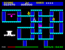 The Snowman ZX Spectrum 17
