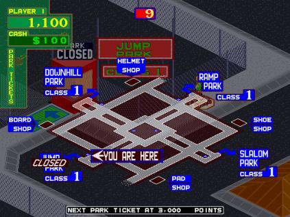 720 Degrees Arcade 67