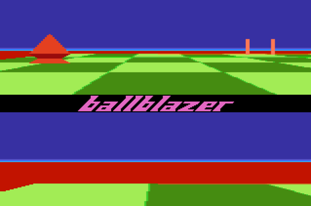Ballblazer Atari 7800 26