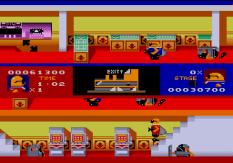 Bonanza Bros Megadrive 54