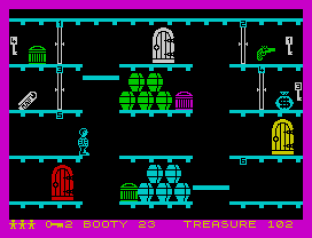 Booty ZX Spectrum 12