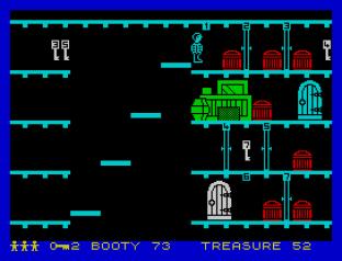 Booty ZX Spectrum 42
