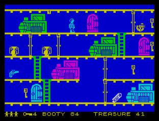 Booty ZX Spectrum 45