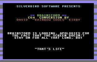 Brainstorm C64 01
