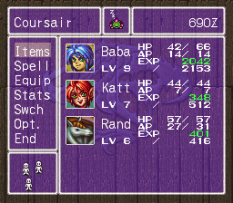 Breath of Fire 2 SNES 121