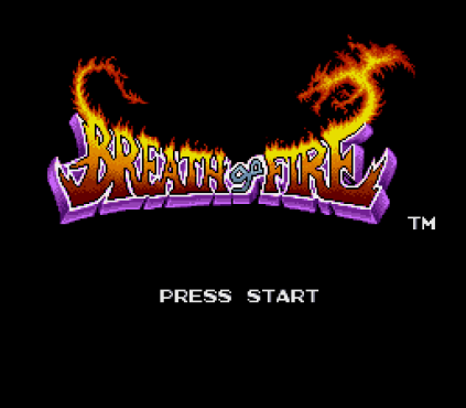 Breath of Fire SNES 001
