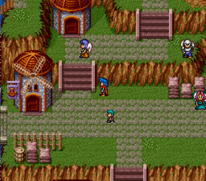 Breath of Fire SNES 089