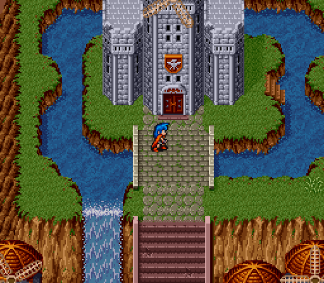 Breath of Fire SNES 100