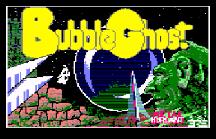 Bubble Ghost CPC 01