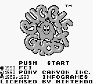 Bubble Ghost Game Boy 01