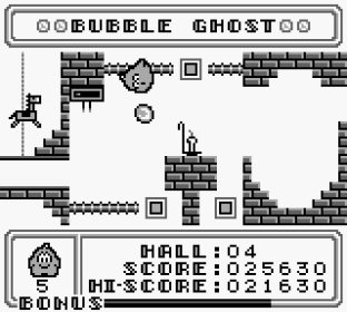 Bubble Ghost Game Boy 09