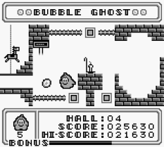 Bubble Ghost Game Boy 10