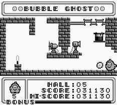 Bubble Ghost Game Boy 11