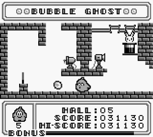 Bubble Ghost Game Boy 12