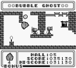 Bubble Ghost Game Boy 15