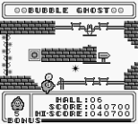 Bubble Ghost Game Boy 16