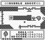 Bubble Ghost Game Boy 18