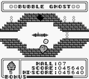 Bubble Ghost Game Boy 20