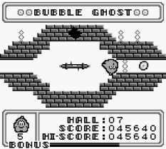 Bubble Ghost Game Boy 21