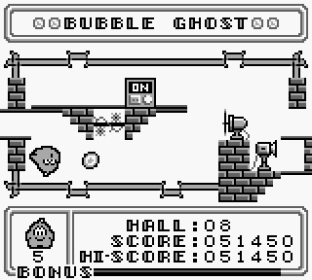 Bubble Ghost Game Boy 23