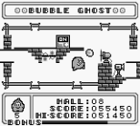 Bubble Ghost Game Boy 24
