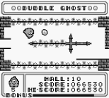 Bubble Ghost Game Boy 30