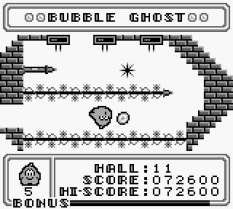 Bubble Ghost Game Boy 32