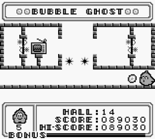 Bubble Ghost Game Boy 42