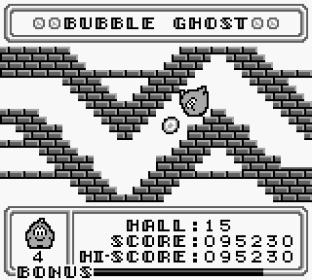 Bubble Ghost Game Boy 45