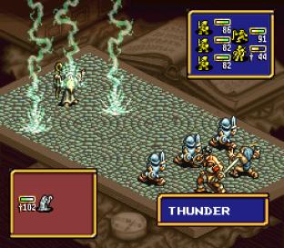 Ogre Battle - The March of the Black Queen SNES 20
