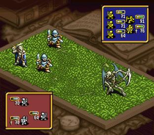 Ogre Battle - The March of the Black Queen SNES 31