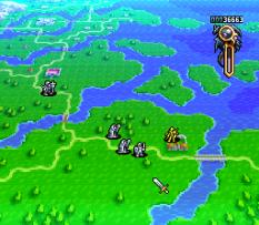 Ogre Battle - The March of the Black Queen SNES 33