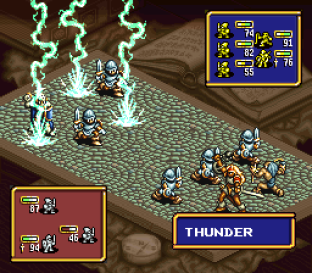 Ogre Battle - The March of the Black Queen SNES 34