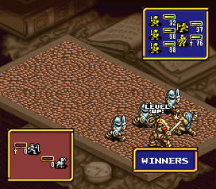 Ogre Battle - The March of the Black Queen SNES 56