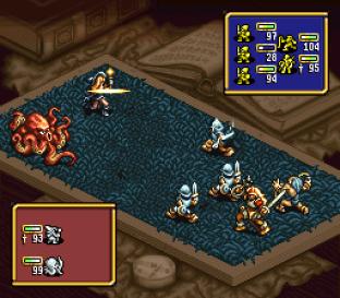 Ogre Battle - The March of the Black Queen SNES 67