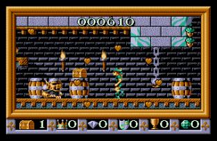 Robin Hood - Legend Quest Amiga 12