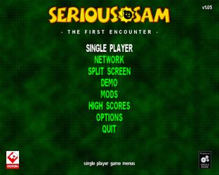 Serious Sam - The First Encounter PC 01