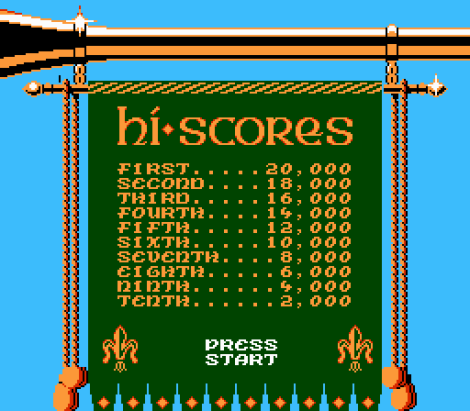 Super Robin Hood NES 37