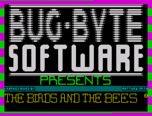 The Birds and the Bees ZX Spectrum 01