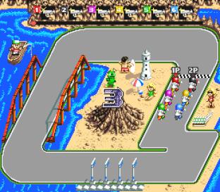 Battle Cross SNES 09