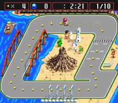 Battle Cross SNES 44