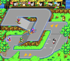 Battle Cross SNES 54